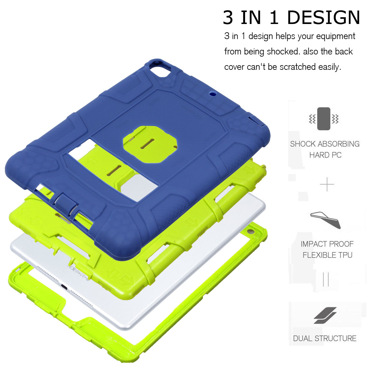 Heavy-Shockproof-Rubber-Stand-Case-Cover-For-Apple-iPad-234-5-Mini-Air-Pro-9-7-034 thumbnail 51