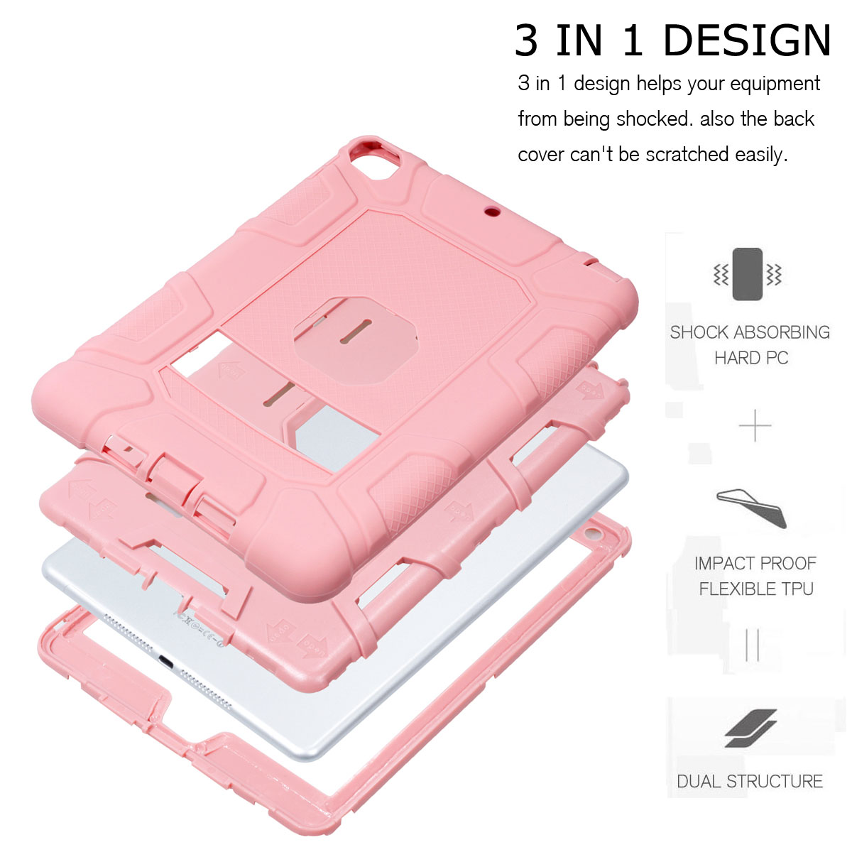 Heavy-Shockproof-Rubber-Stand-Case-Cover-For-Apple-iPad-234-5-Mini-Air-Pro-9-7-034 thumbnail 58