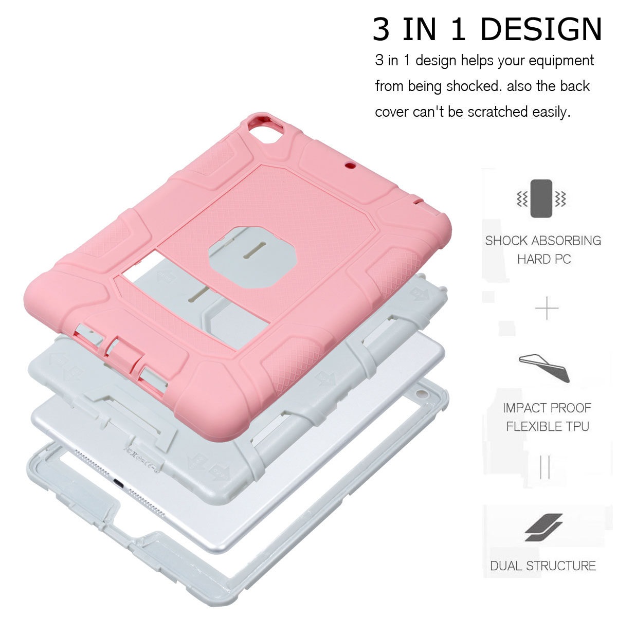 Heavy-Shockproof-Rubber-Stand-Case-Cover-For-Apple-iPad-234-5-Mini-Air-Pro-9-7-034 thumbnail 65