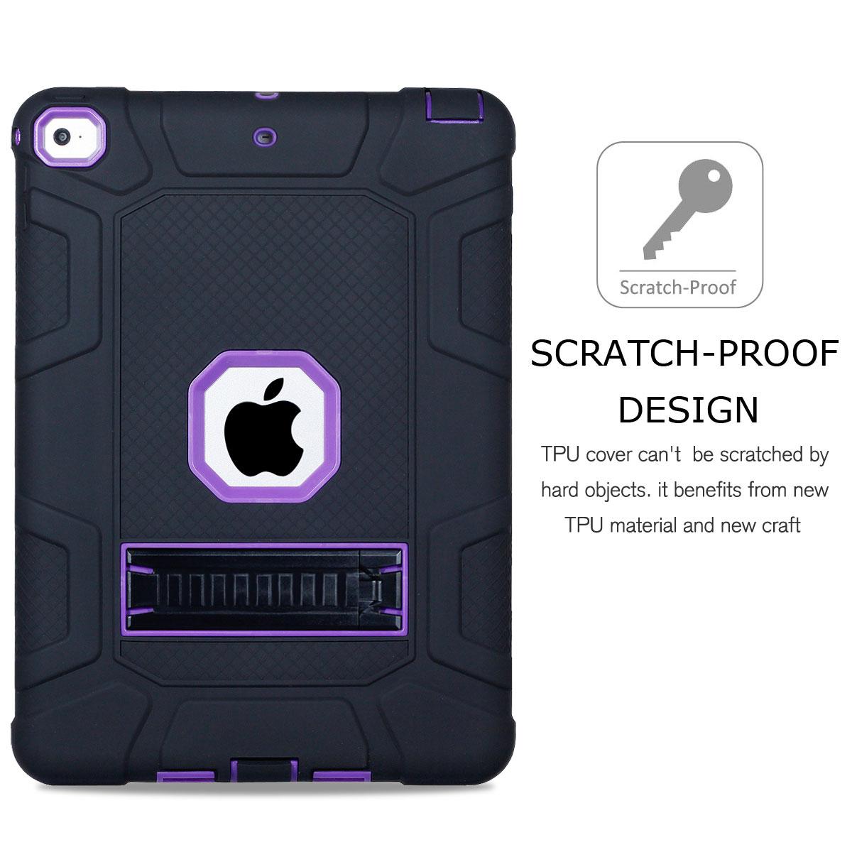 For-Apple-iPad-6th-Generation-9-7-034-2018-Shockproof-360-Full-Hybrid-Hard-Case thumbnail 22