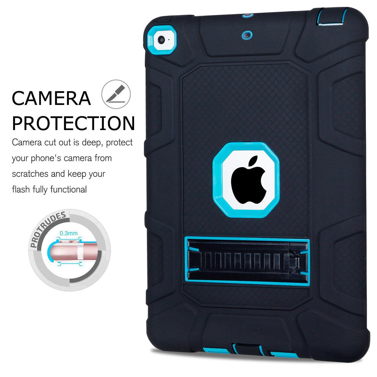 For-Apple-iPad-6th-Generation-9-7-034-2018-Shockproof-360-Full-Hybrid-Hard-Case thumbnail 35
