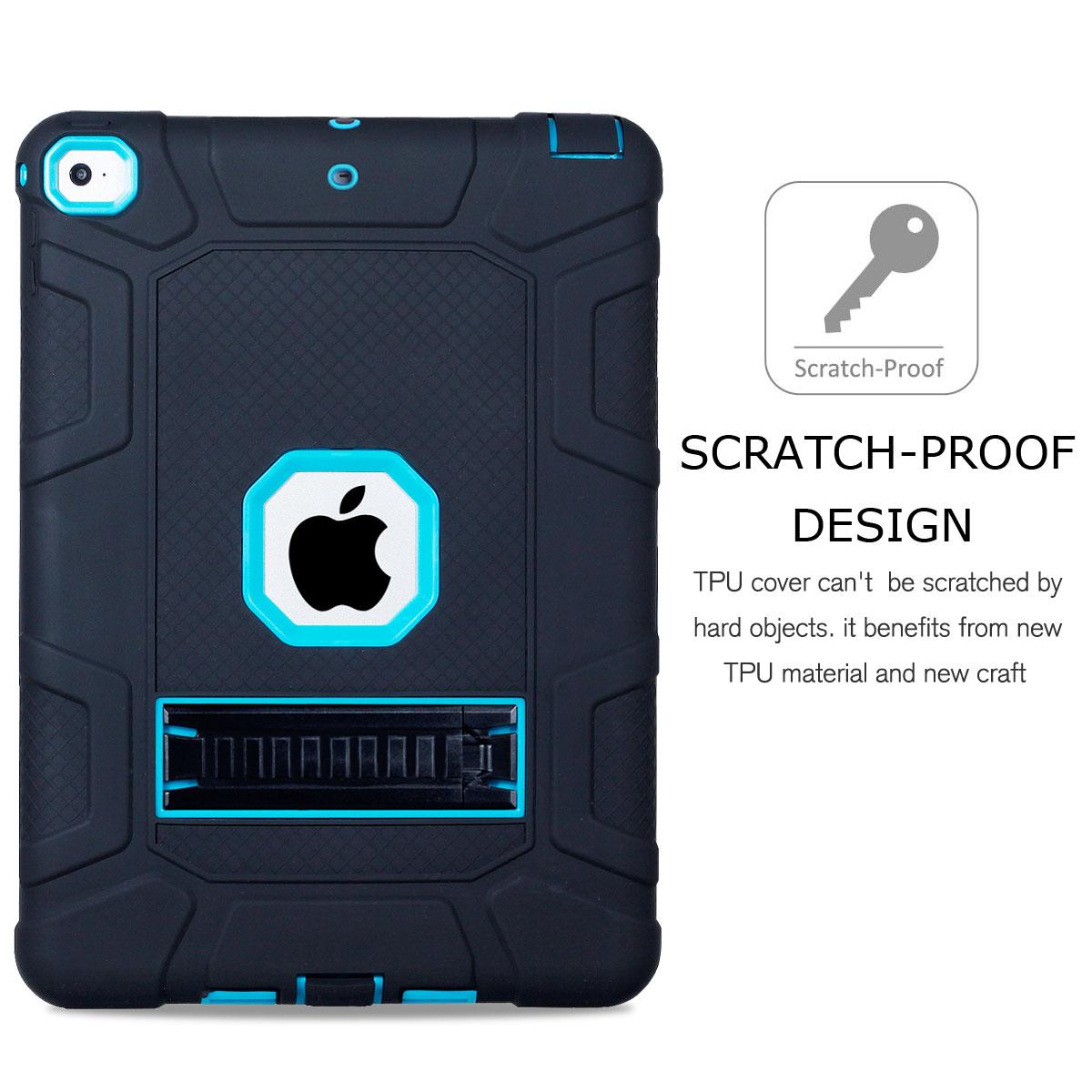 For-Apple-iPad-6th-Generation-9-7-034-2018-Shockproof-360-Full-Hybrid-Hard-Case thumbnail 36