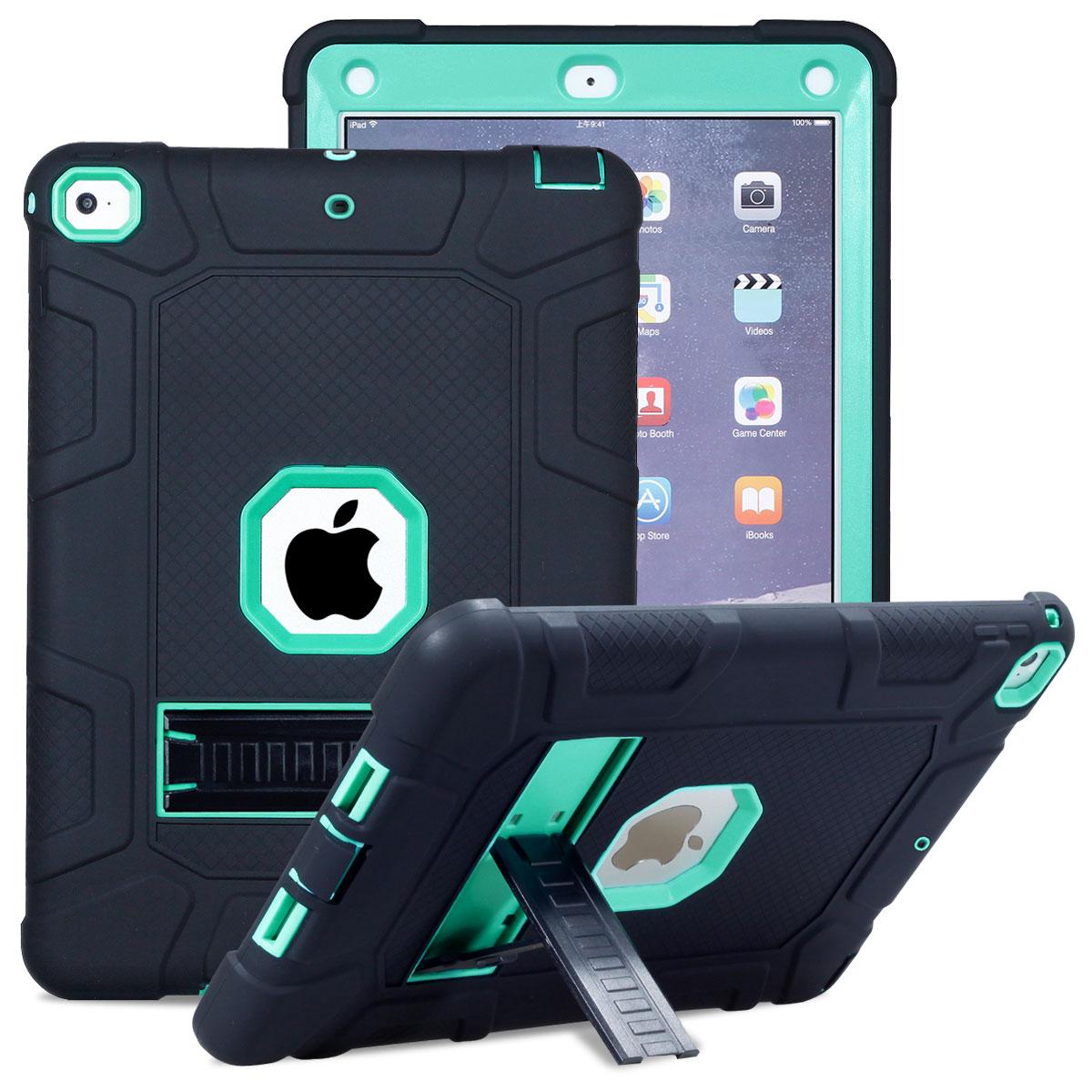 For-Apple-iPad-6th-Generation-9-7-034-2018-Shockproof-360-Full-Hybrid-Hard-Case thumbnail 41