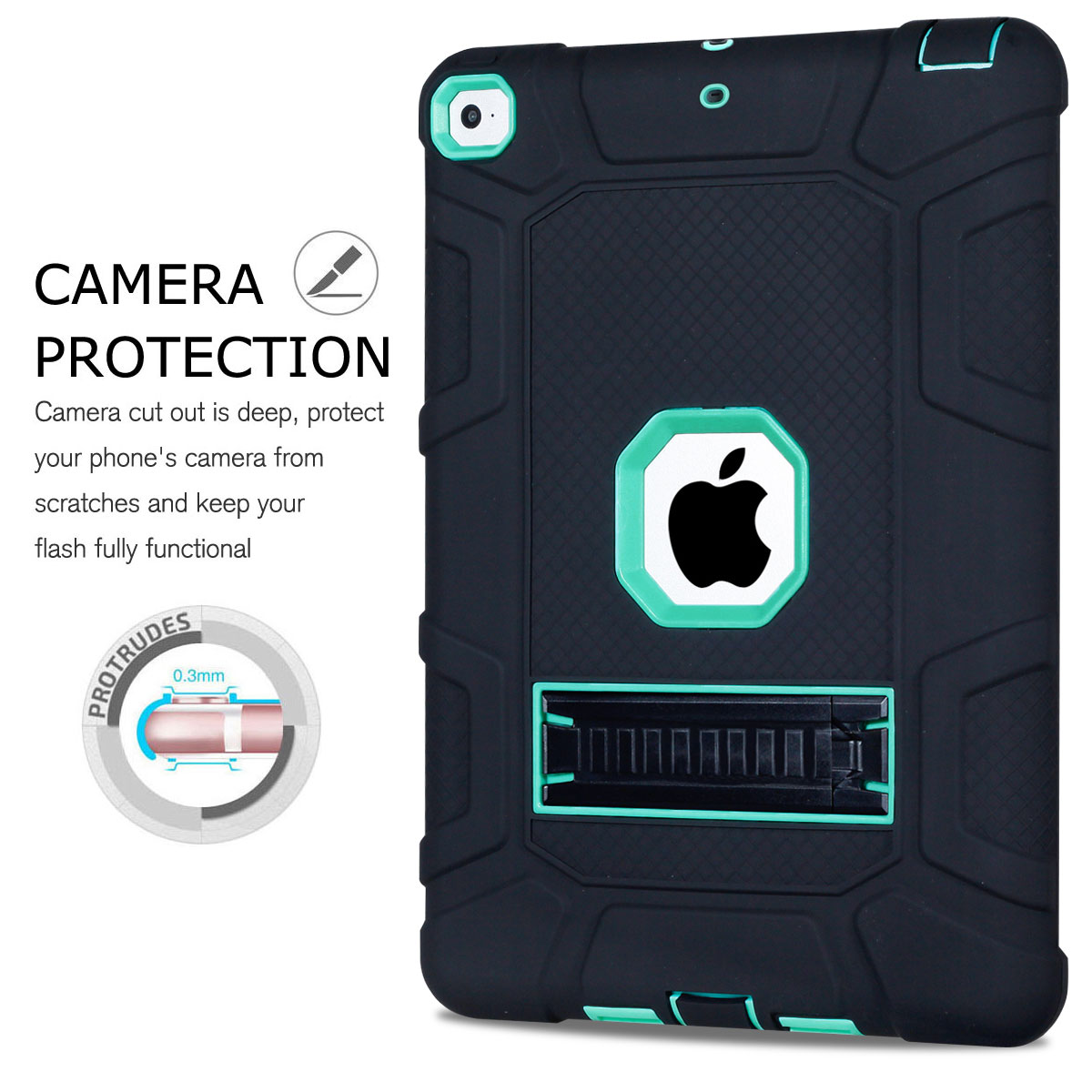For-Apple-iPad-6th-Generation-9-7-034-2018-Shockproof-360-Full-Hybrid-Hard-Case thumbnail 42