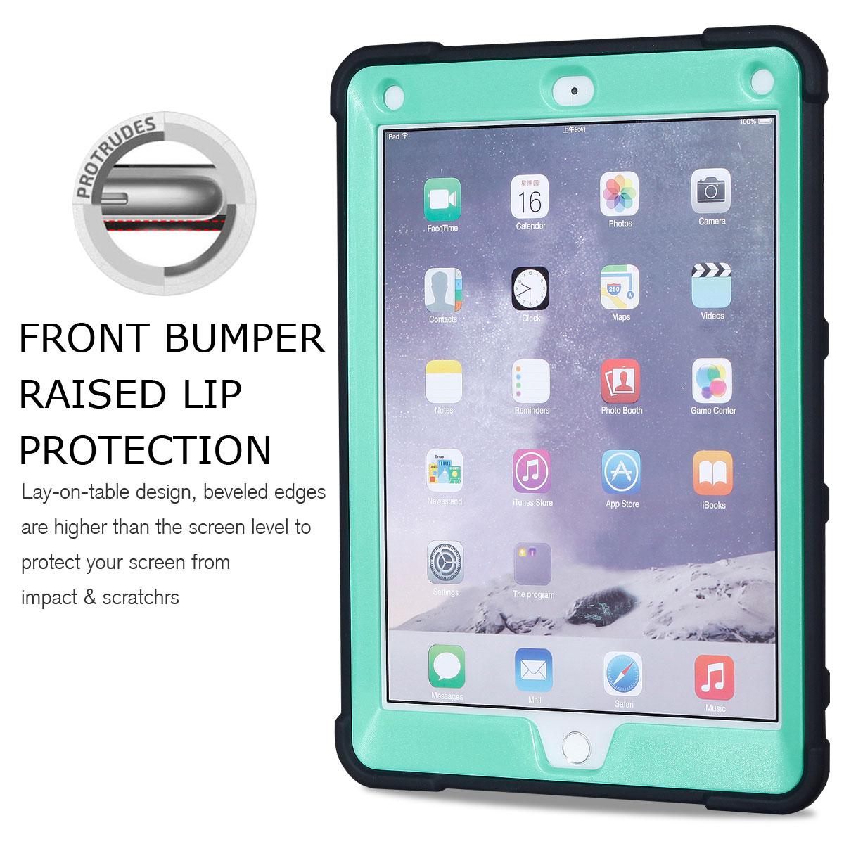 For-Apple-iPad-6th-Generation-9-7-034-2018-Shockproof-360-Full-Hybrid-Hard-Case thumbnail 44