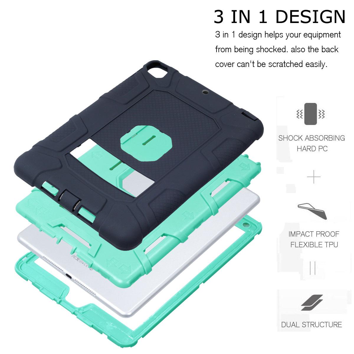 For-Apple-iPad-6th-Generation-9-7-034-2018-Shockproof-360-Full-Hybrid-Hard-Case thumbnail 45