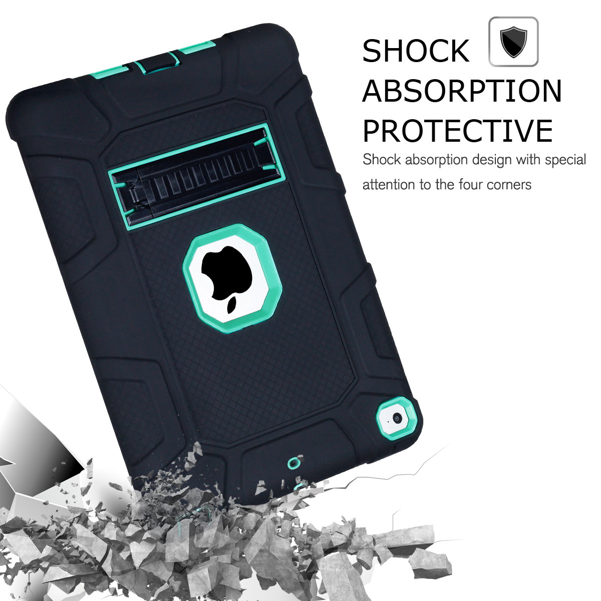 For-Apple-iPad-6th-Generation-9-7-034-2018-Shockproof-360-Full-Hybrid-Hard-Case thumbnail 47