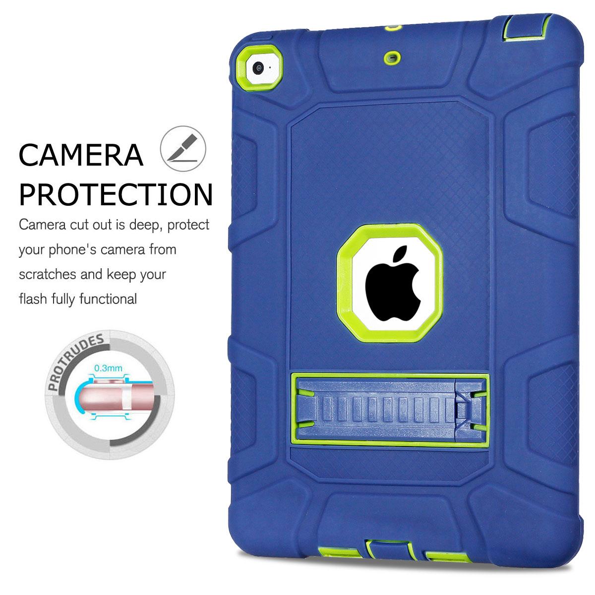 For-Apple-iPad-6th-Generation-9-7-034-2018-Shockproof-360-Full-Hybrid-Hard-Case thumbnail 3