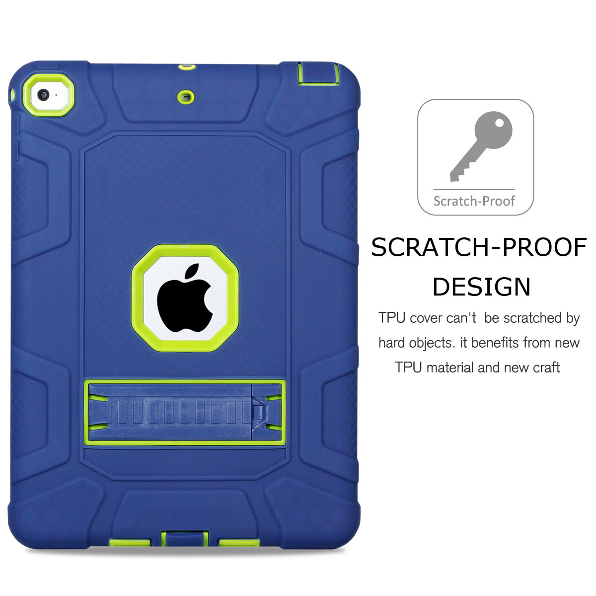 For-Apple-iPad-6th-Generation-9-7-034-2018-Shockproof-360-Full-Hybrid-Hard-Case thumbnail 4