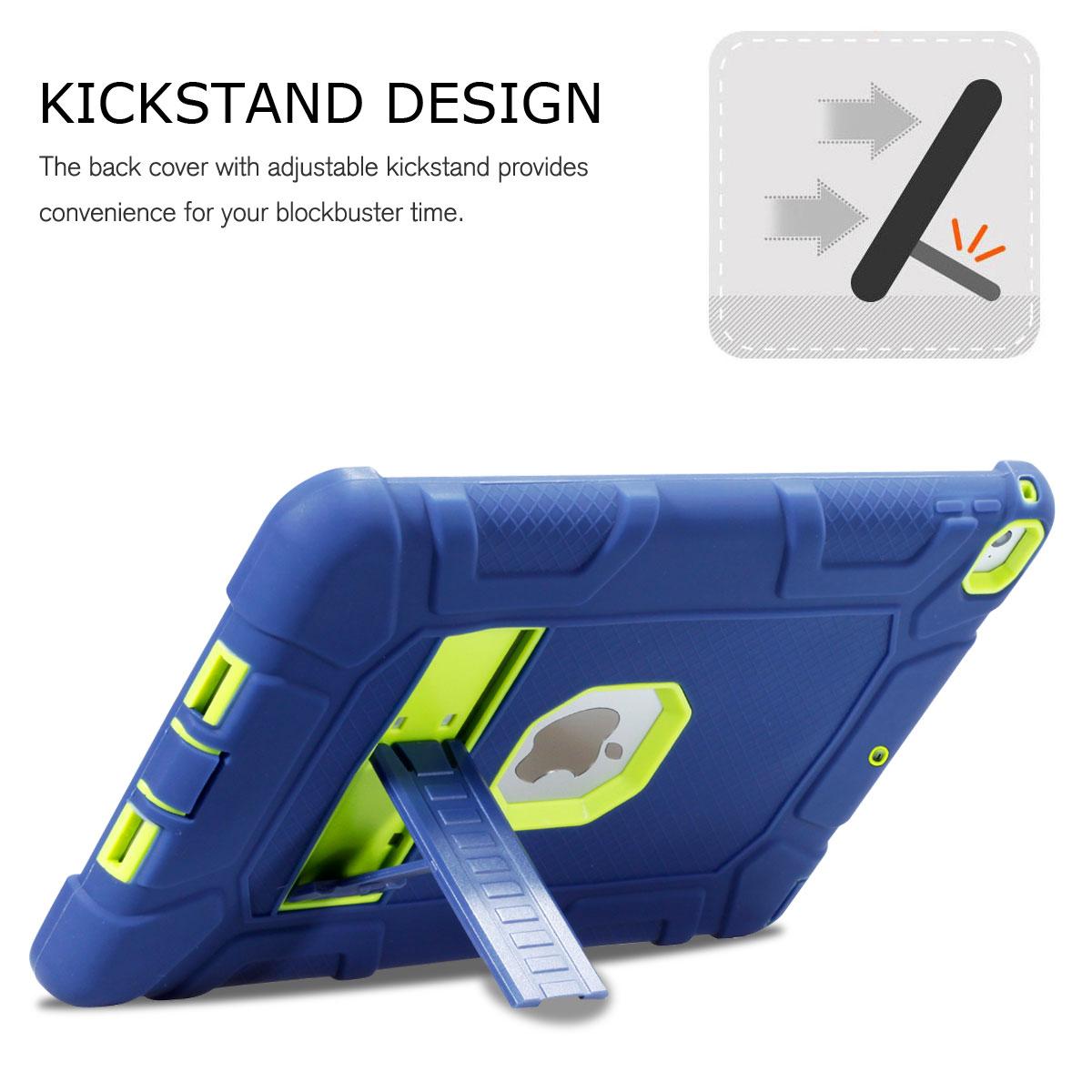 "For Apple iPad 6th Generation 9.7"" 2018 Shockproof 360 ..."