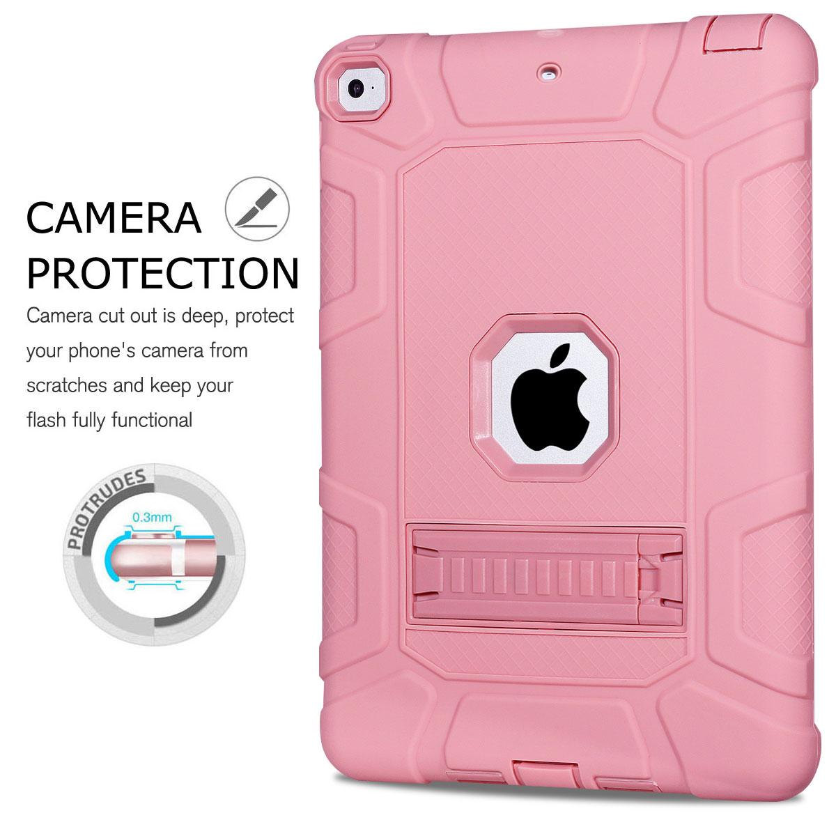 For-Apple-iPad-6th-Generation-9-7-034-2018-Shockproof-360-Full-Hybrid-Hard-Case thumbnail 56