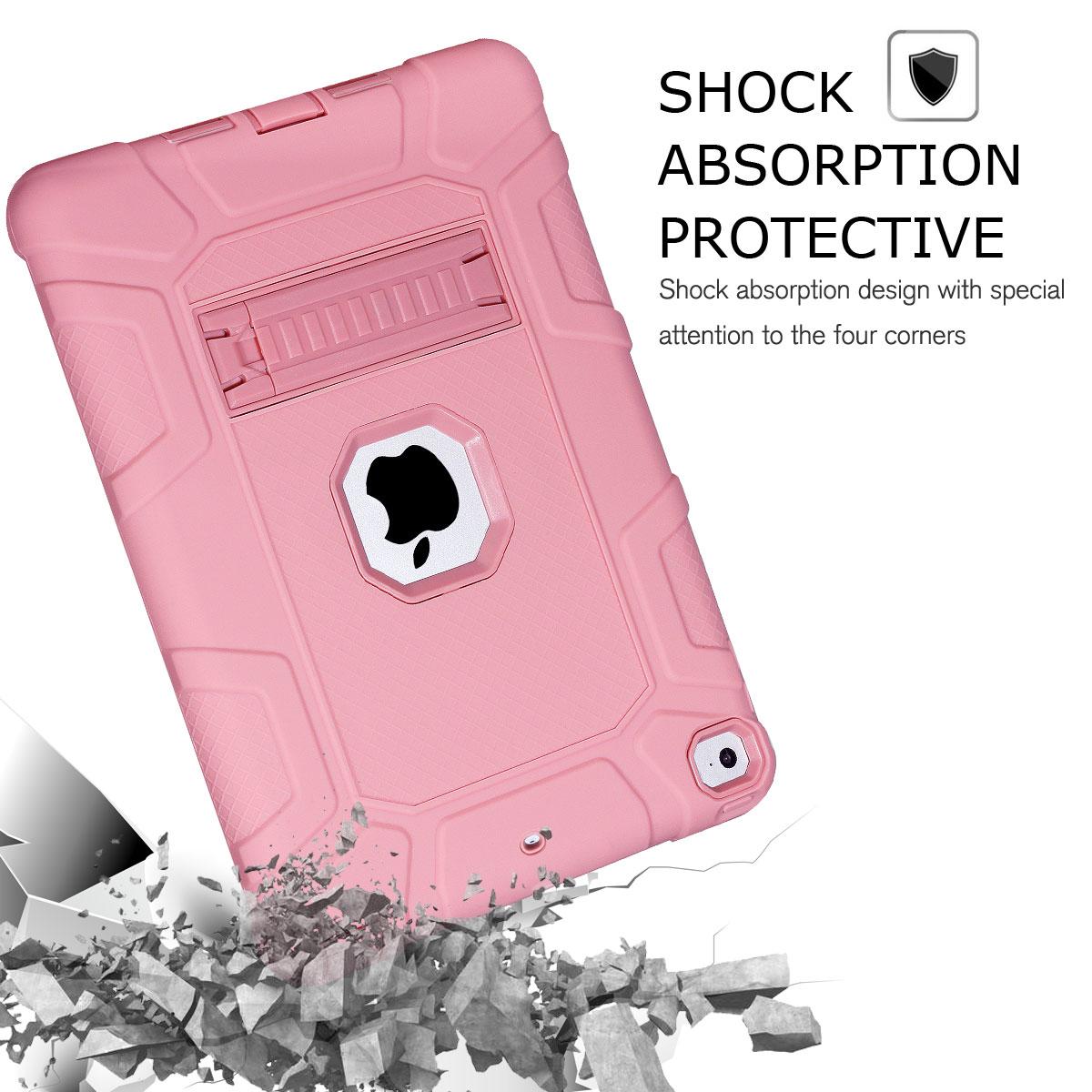 For-Apple-iPad-6th-Generation-9-7-034-2018-Shockproof-360-Full-Hybrid-Hard-Case thumbnail 61