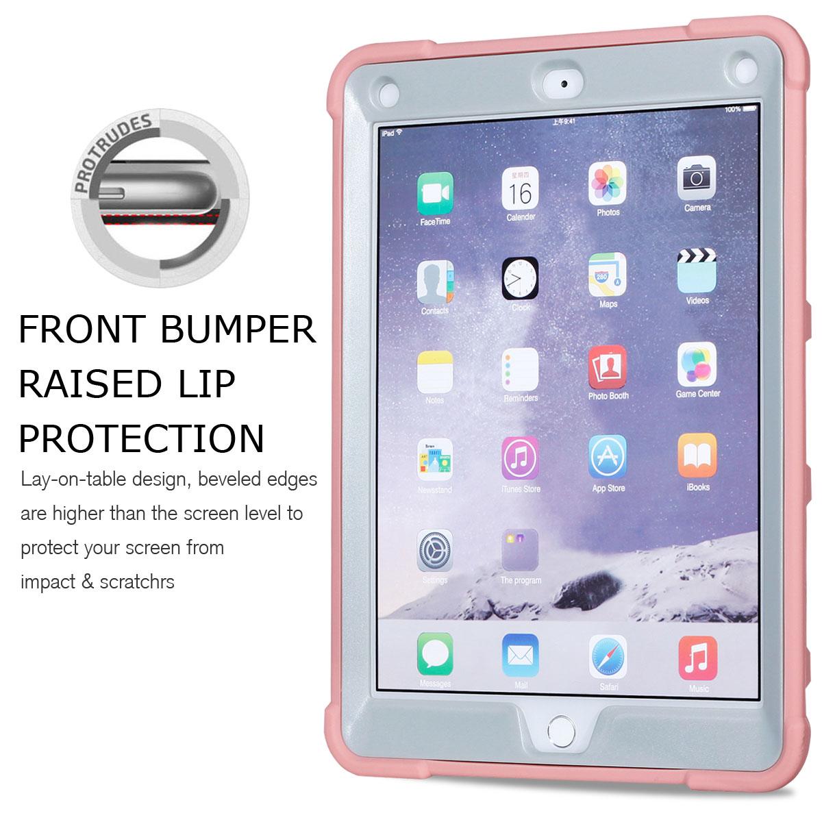 For-Apple-iPad-6th-Generation-9-7-034-2018-Shockproof-360-Full-Hybrid-Hard-Case thumbnail 65