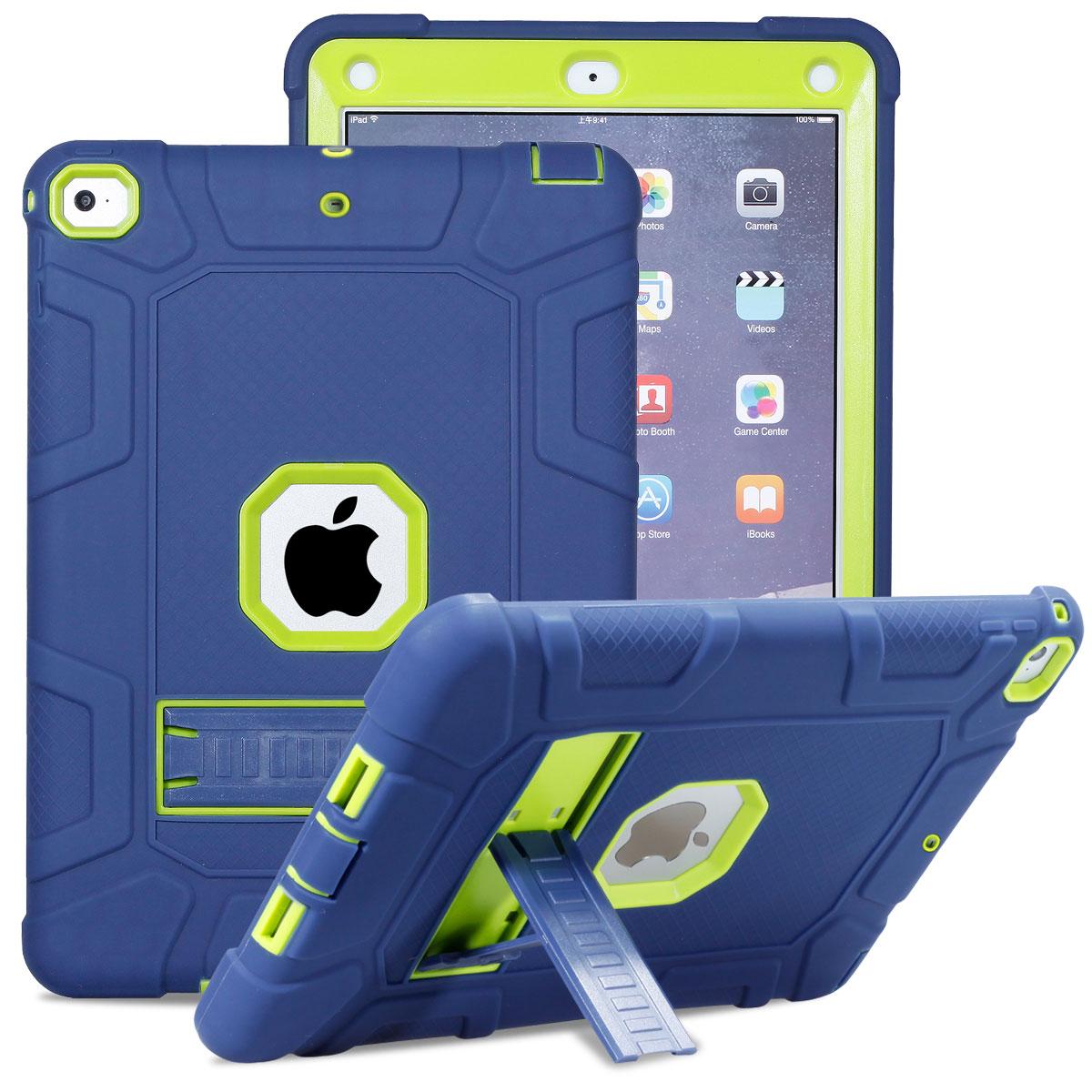 For-Apple-iPad-6th-Generation-9-7-034-2018-Shockproof-360-Full-Hybrid-Hard-Case thumbnail 2