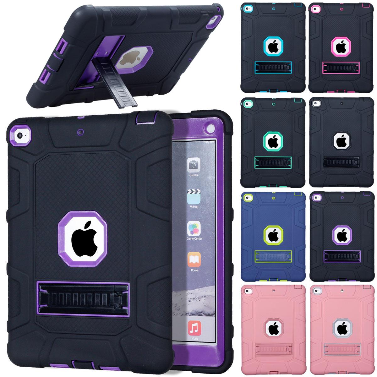 For-Apple-iPad-6th-Generation-9-7-034-2018-Shockproof-360-Full-Hybrid-Hard-Case thumbnail 9