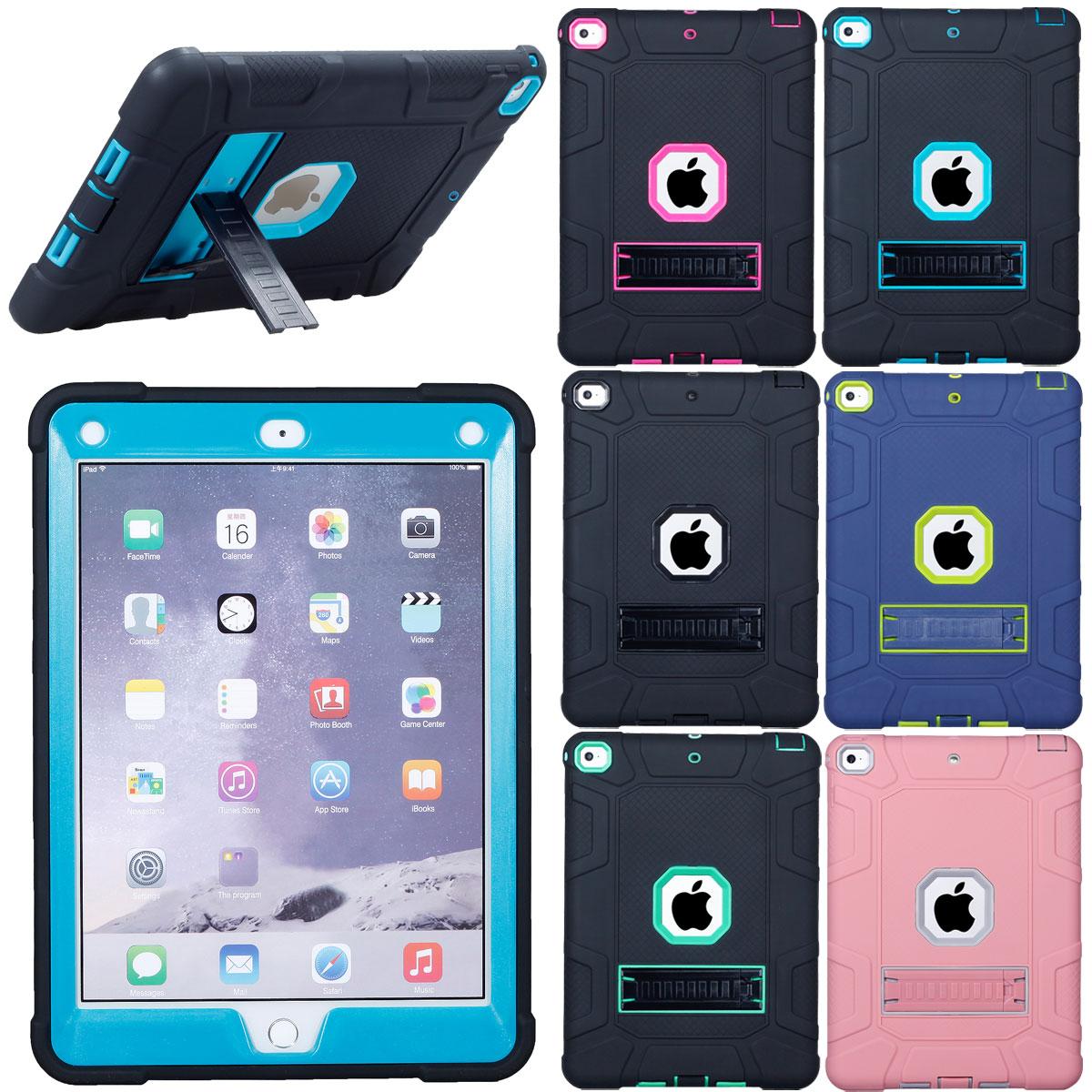 For-Apple-iPad-6th-Generation-9-7-034-2018-Shockproof-360-Full-Hybrid-Hard-Case thumbnail 11