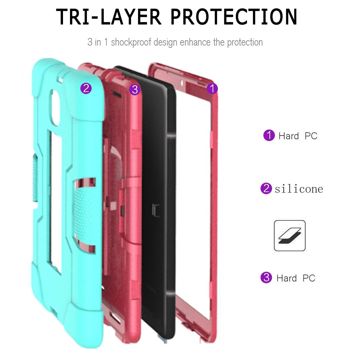 Hybrid-Shockproof-Impact-Case-Cover-For-Samsung-Galaxy-Tab-A-8-0-2018-SM-T387 thumbnail 16