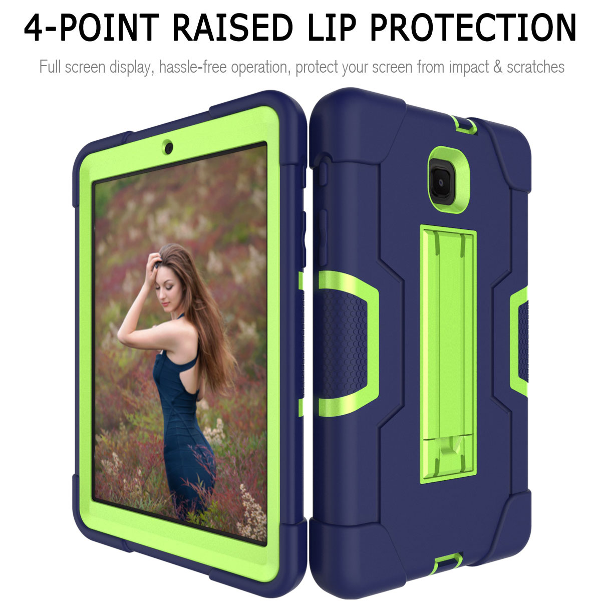 Hybrid-Shockproof-Impact-Case-Cover-For-Samsung-Galaxy-Tab-A-8-0-2018-SM-T387 thumbnail 24