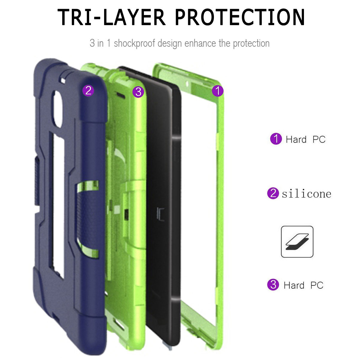 Hybrid-Shockproof-Impact-Case-Cover-For-Samsung-Galaxy-Tab-A-8-0-2018-SM-T387 thumbnail 22