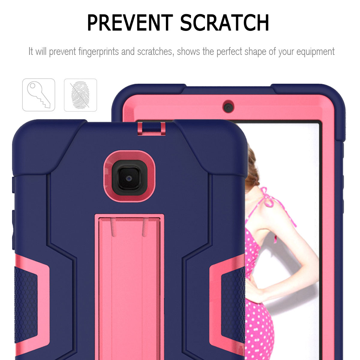 Hybrid-Shockproof-Impact-Case-Cover-For-Samsung-Galaxy-Tab-A-8-0-2018-SM-T387 thumbnail 34