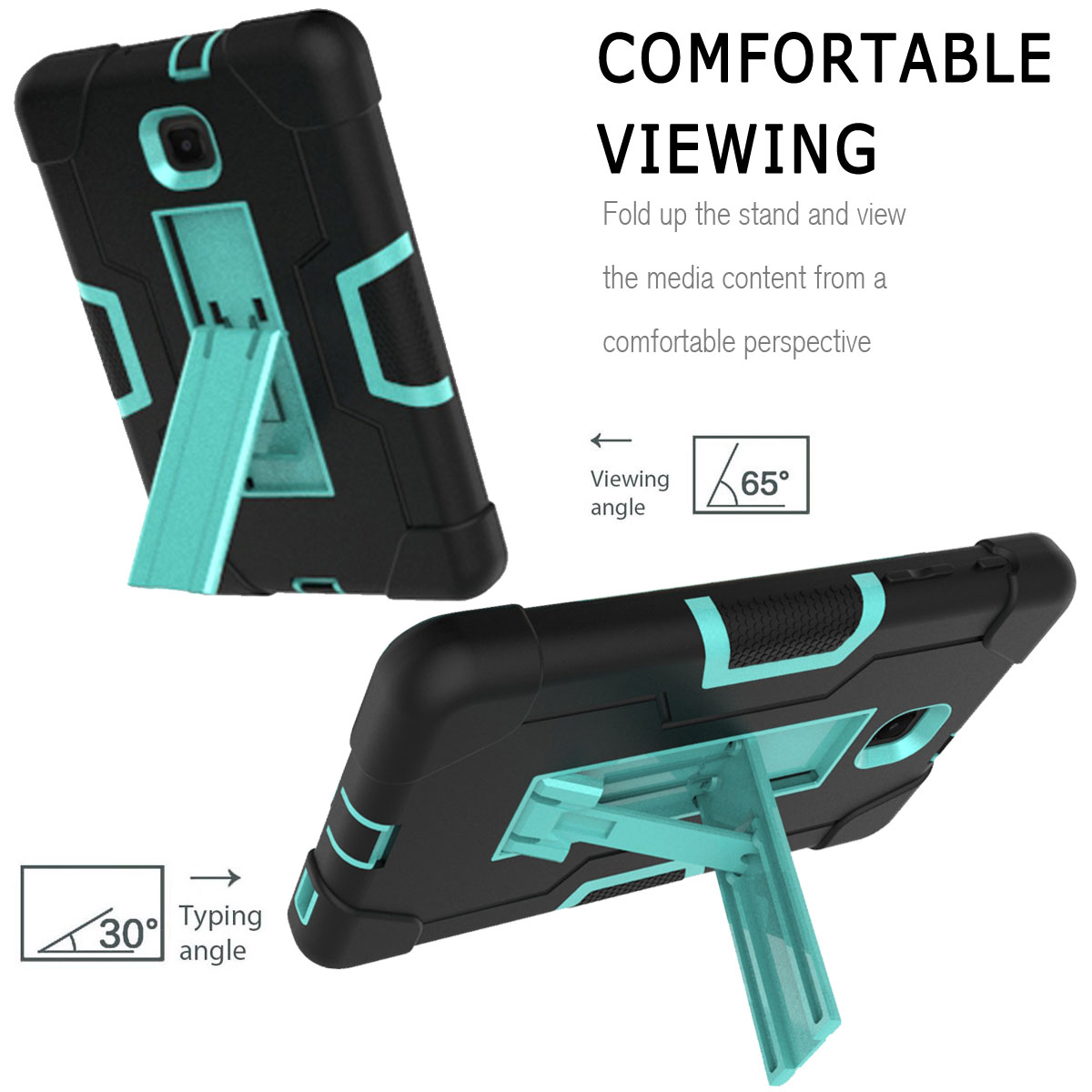 Hybrid-Shockproof-Impact-Case-Cover-For-Samsung-Galaxy-Tab-A-8-0-2018-SM-T387 thumbnail 41