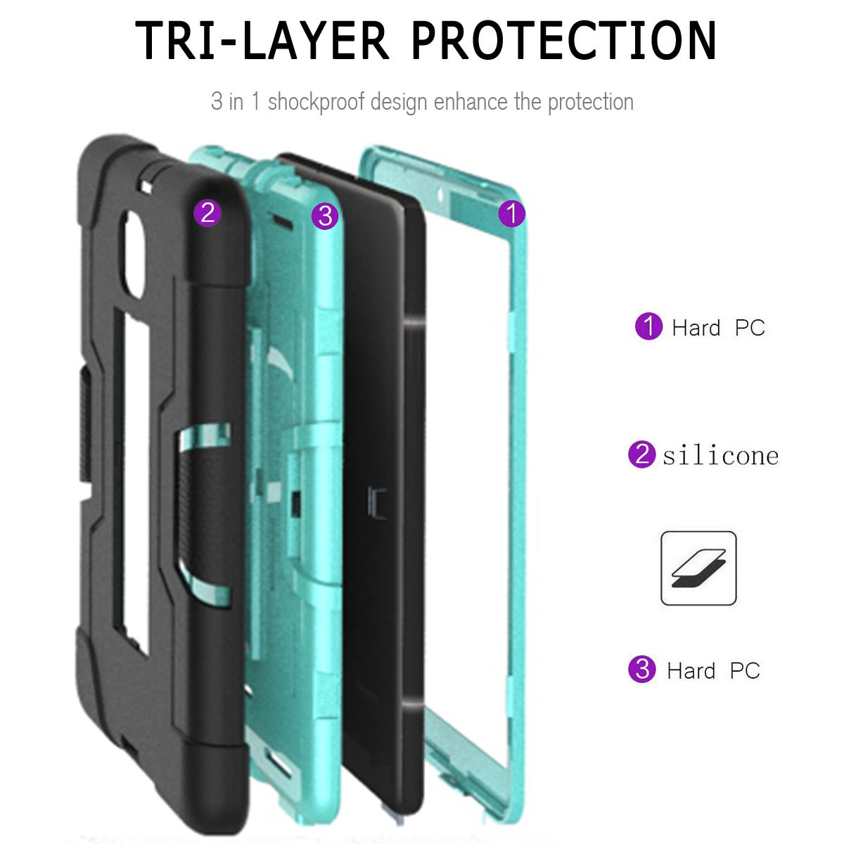 Hybrid-Shockproof-Impact-Case-Cover-For-Samsung-Galaxy-Tab-A-8-0-2018-SM-T387 thumbnail 42