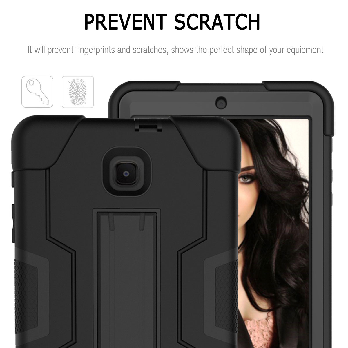 Hybrid-Shockproof-Impact-Case-Cover-For-Samsung-Galaxy-Tab-A-8-0-2018-SM-T387 thumbnail 46