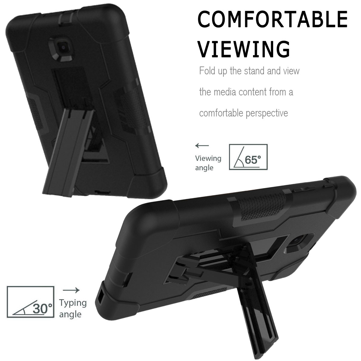 Hybrid-Shockproof-Impact-Case-Cover-For-Samsung-Galaxy-Tab-A-8-0-2018-SM-T387 thumbnail 47