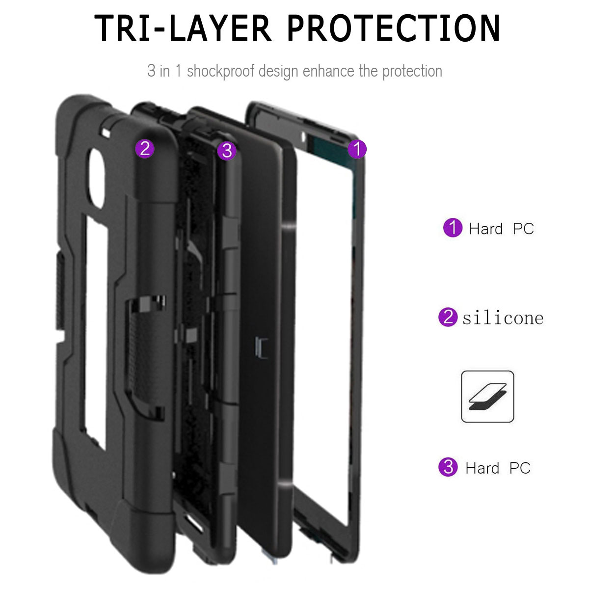 Hybrid-Shockproof-Impact-Case-Cover-For-Samsung-Galaxy-Tab-A-8-0-2018-SM-T387 thumbnail 48