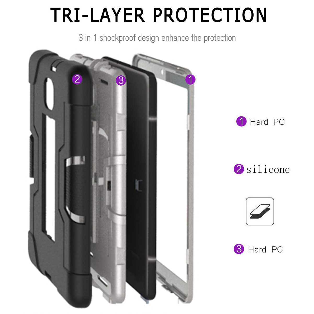 Hybrid-Shockproof-Impact-Case-Cover-For-Samsung-Galaxy-Tab-A-8-0-2018-SM-T387 thumbnail 54