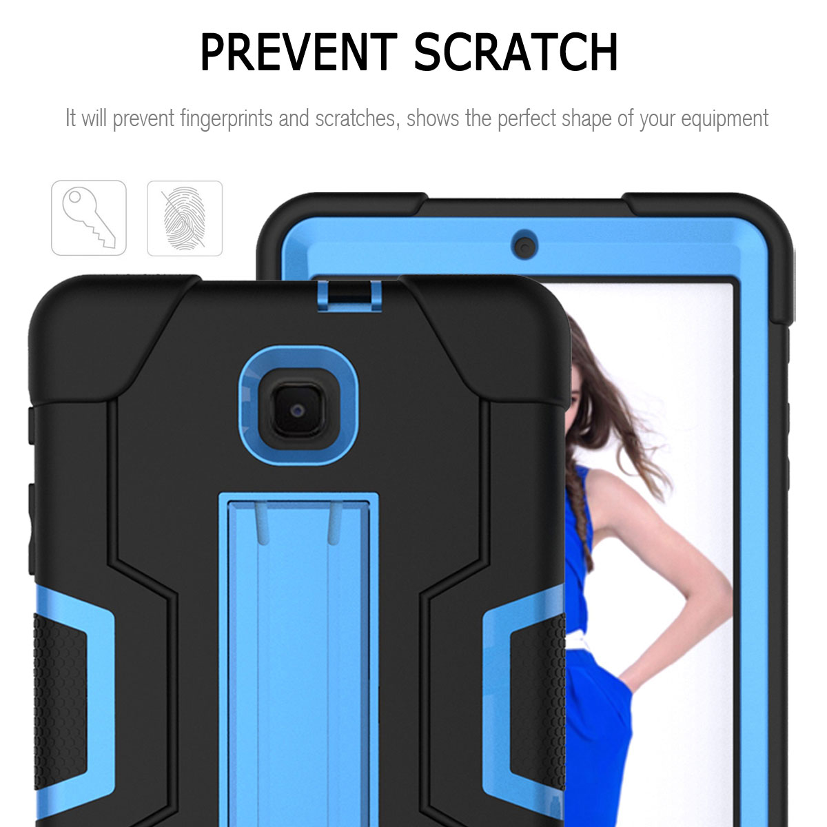 Hybrid-Shockproof-Impact-Case-Cover-For-Samsung-Galaxy-Tab-A-8-0-2018-SM-T387 thumbnail 58
