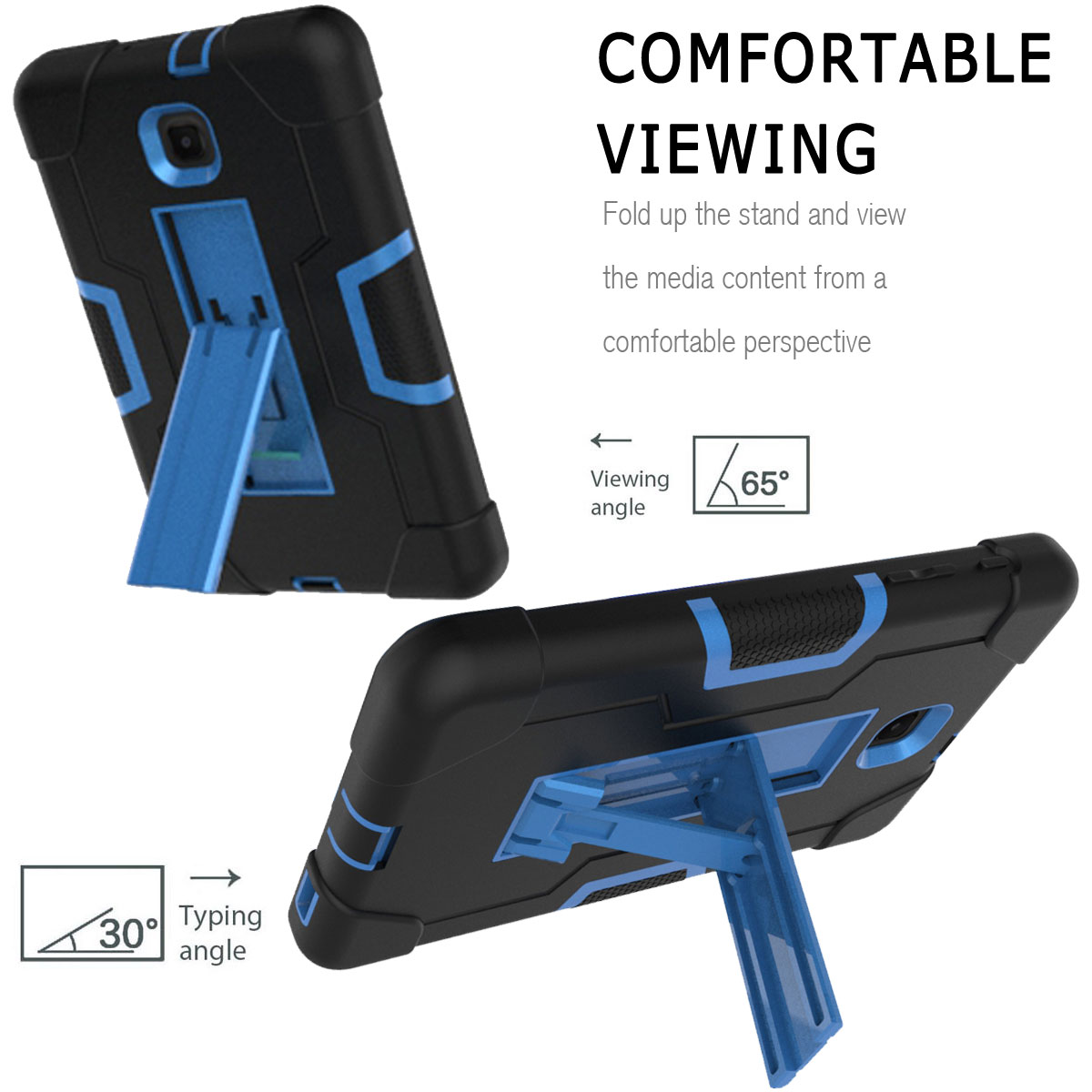 Hybrid-Shockproof-Impact-Case-Cover-For-Samsung-Galaxy-Tab-A-8-0-2018-SM-T387 thumbnail 59