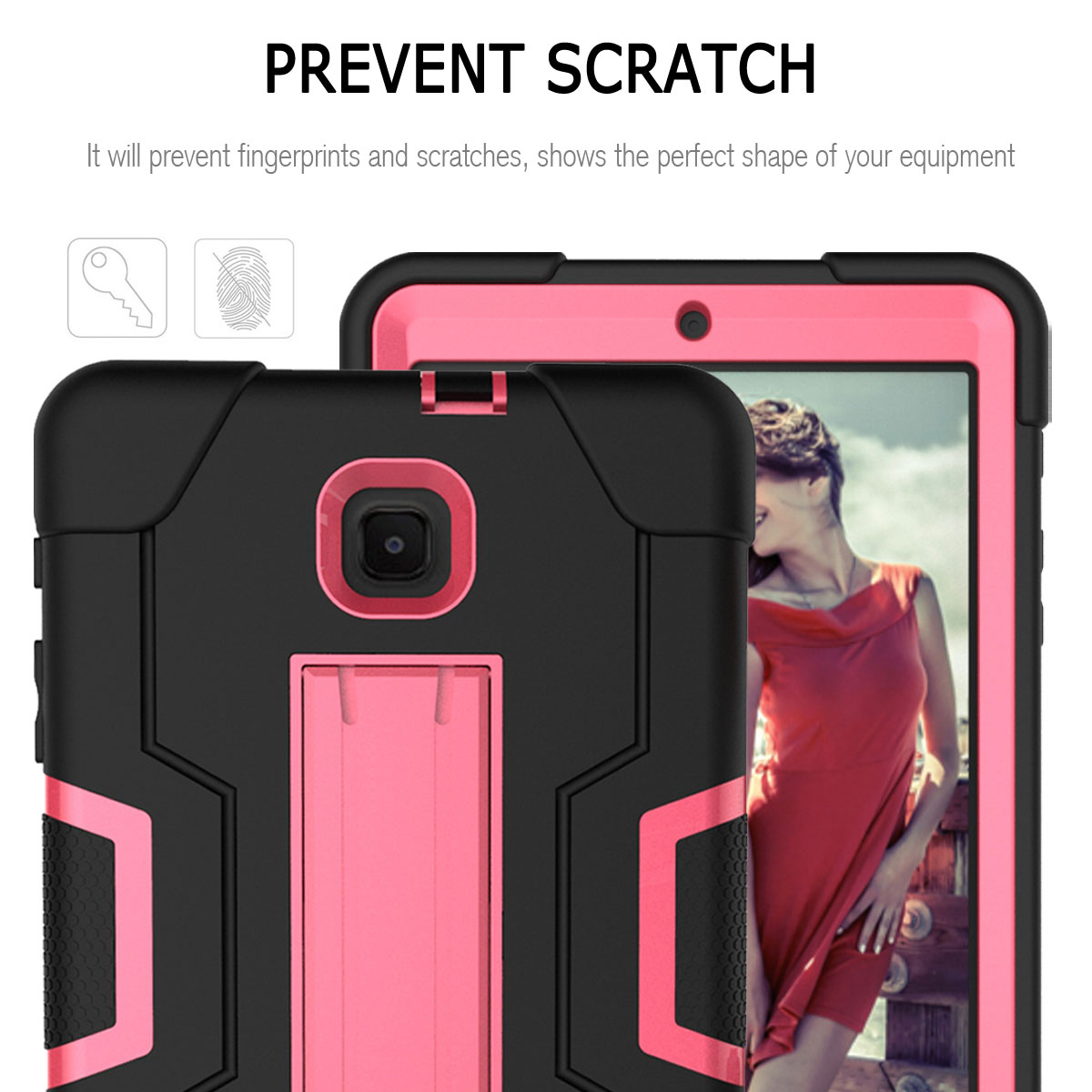 Hybrid-Shockproof-Impact-Case-Cover-For-Samsung-Galaxy-Tab-A-8-0-2018-SM-T387 thumbnail 64