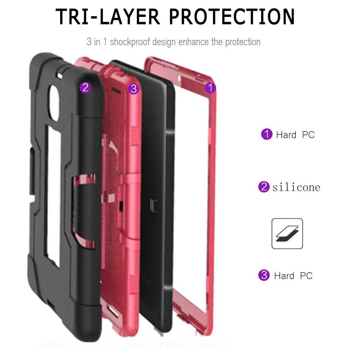 Hybrid-Shockproof-Impact-Case-Cover-For-Samsung-Galaxy-Tab-A-8-0-2018-SM-T387 thumbnail 66