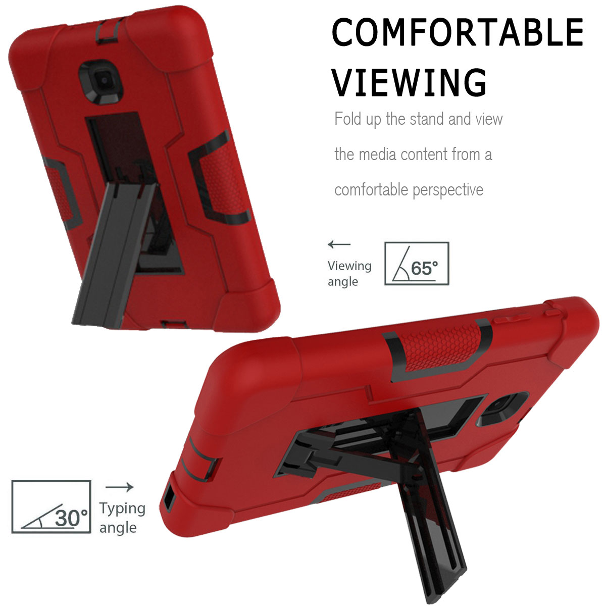 Hybrid-Shockproof-Impact-Case-Cover-For-Samsung-Galaxy-Tab-A-8-0-2018-SM-T387 thumbnail 71