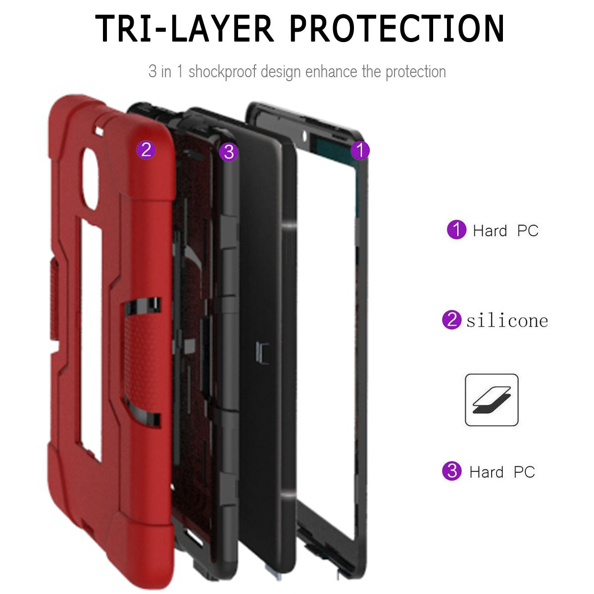 Hybrid-Shockproof-Impact-Case-Cover-For-Samsung-Galaxy-Tab-A-8-0-2018-SM-T387 thumbnail 72