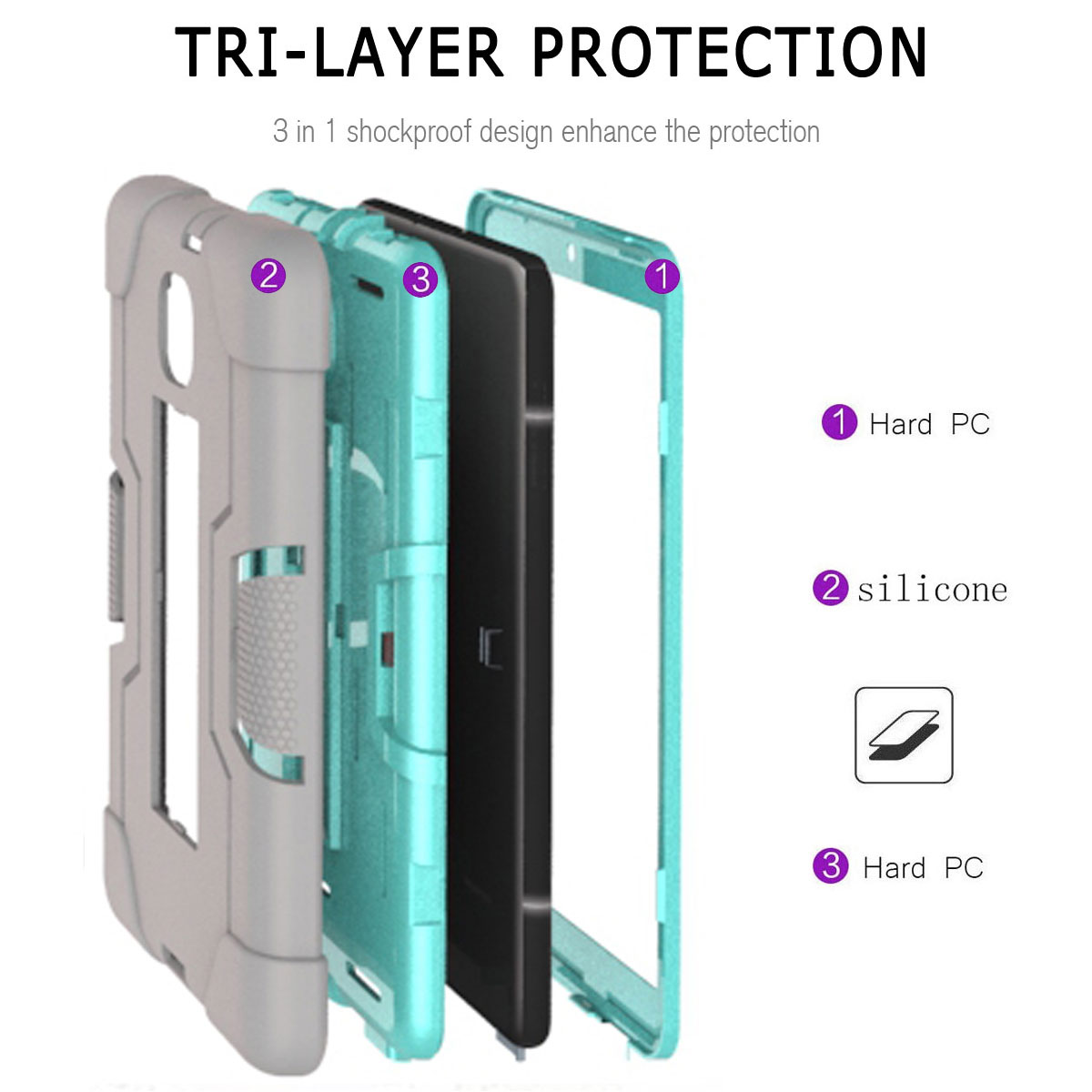 Hybrid-Shockproof-Impact-Case-Cover-For-Samsung-Galaxy-Tab-A-8-0-2018-SM-T387 thumbnail 78