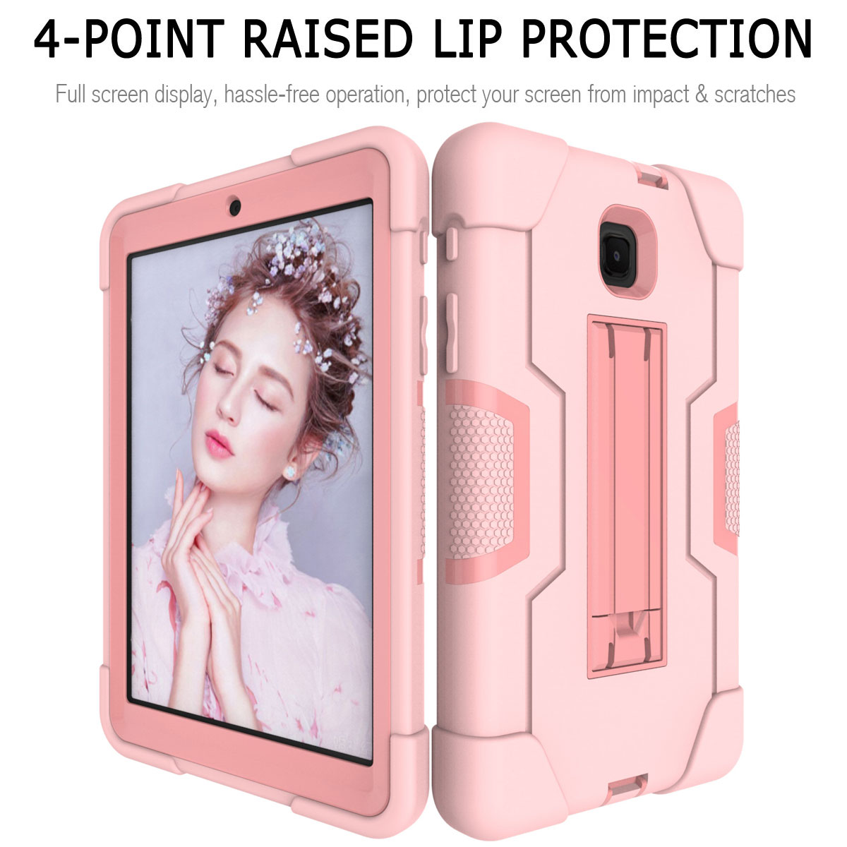 Hybrid-Shockproof-Impact-Case-Cover-For-Samsung-Galaxy-Tab-A-8-0-2018-SM-T387 thumbnail 81