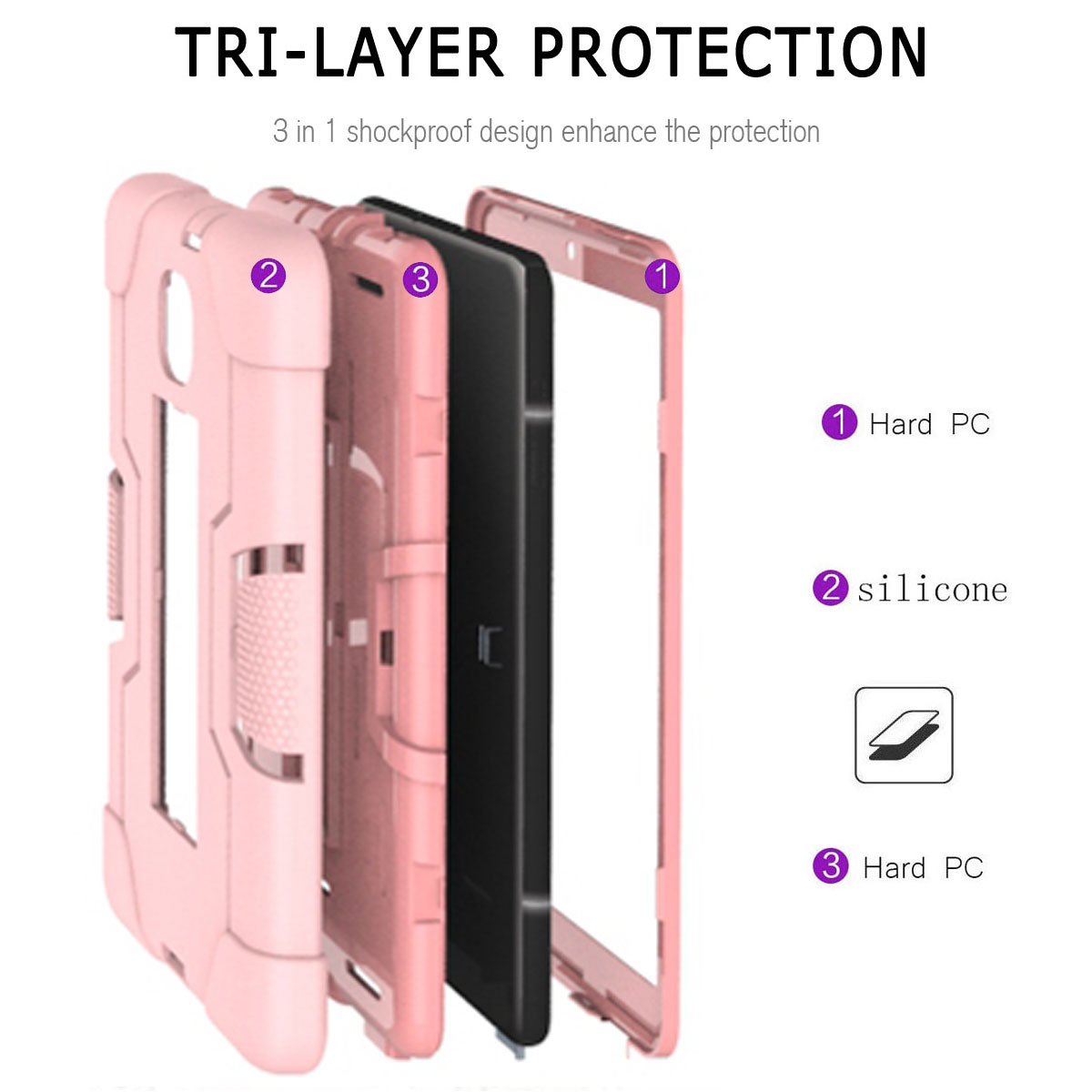 Hybrid-Shockproof-Impact-Case-Cover-For-Samsung-Galaxy-Tab-A-8-0-2018-SM-T387 thumbnail 84